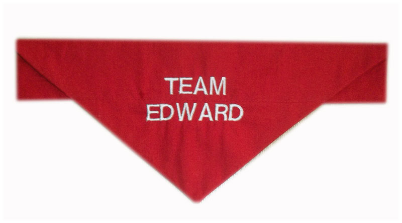 team-edward bandana