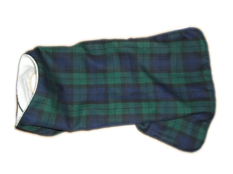 Black Watch Tartan Dog Coat