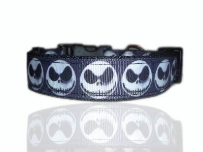 Jack Skellington Nightmare Before Christmas Dog Collar