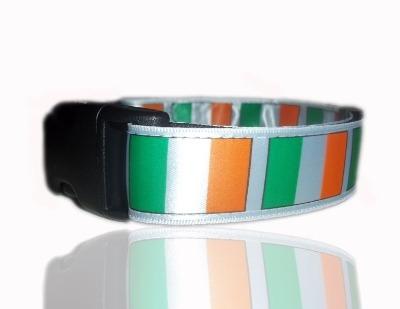Irish Flag Dog Collar