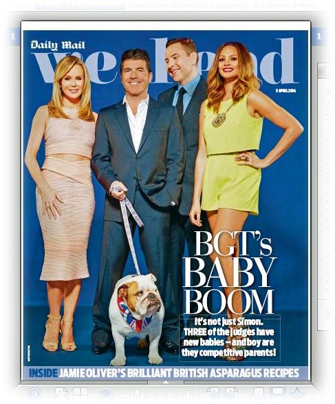 Daily Mail Weekend Magazine B