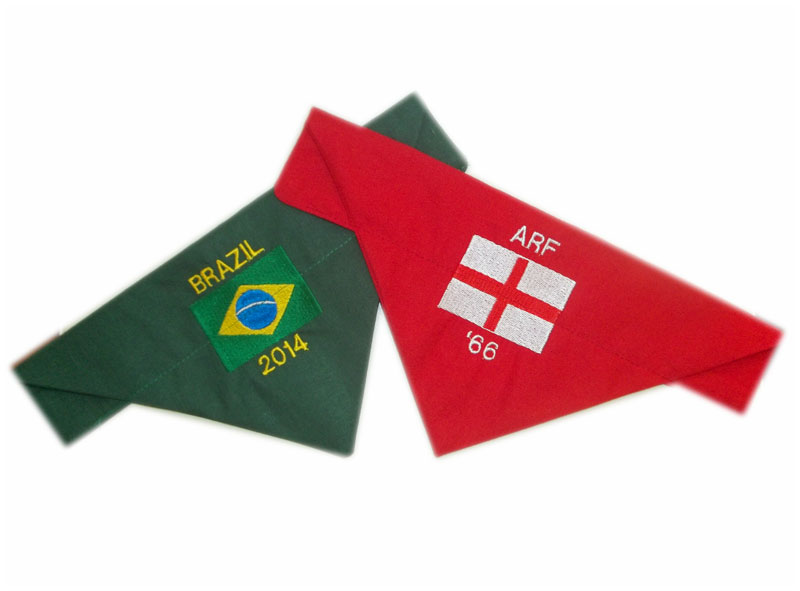 Personalised Flag Of The World Bandana