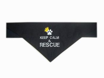 Keep Calm And Rescue Bandana