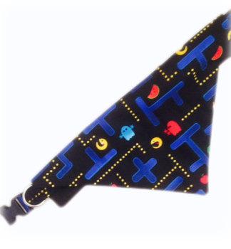 Pacman Arcade Retro Bandana And Collar Set