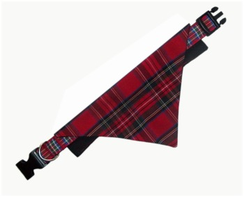 Mix And Match Tartan Bandana And Collar Sets