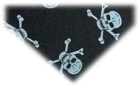 Ship Mate Skull And Crossbone Pirate Cat Bandana