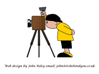 Photographer web design 2