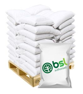 975kg of Premium Wood Pellets in small bags with a BSL number BSL0123426-00
