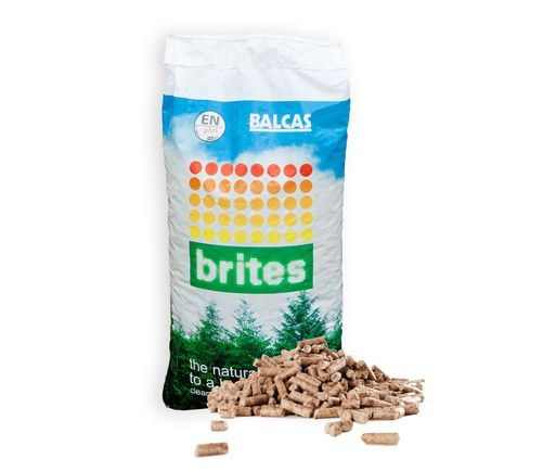 <!-- 015 -->100kg of Balcas Brites Premium Wood Pellets