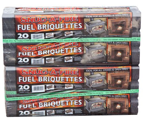 <!-- 001 -->25kg of genuine Irish peat briquettes including delivery to mos