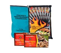 <!-- 010 -->Restaurant Charcoal Value Barbecue Pack - Price Includes VAT &amp; Delivery*