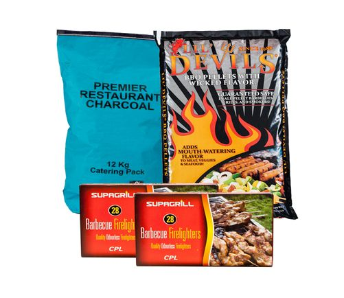 <!-- 010 -->Restaurant Charcoal Value Barbecue Pack - Price Includes VAT &