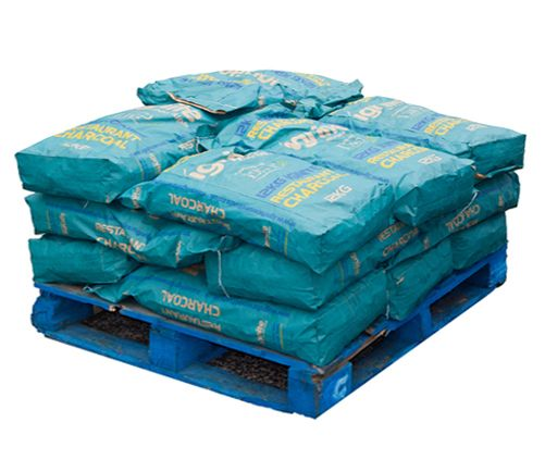 <!-- 007 -->180kg of Restaurant Charcoal - Small pallet