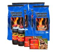 <!-- 013 -->Lumpwood Charcoal Value Barbecue Pack - Price Includes VAT & Delivery*