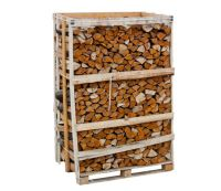 1.76 m3 Crate of Kiln Dried Hardwood Logs Delivered