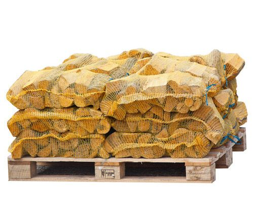 24 Netted Sacks of Kiln Dried Netted Logs