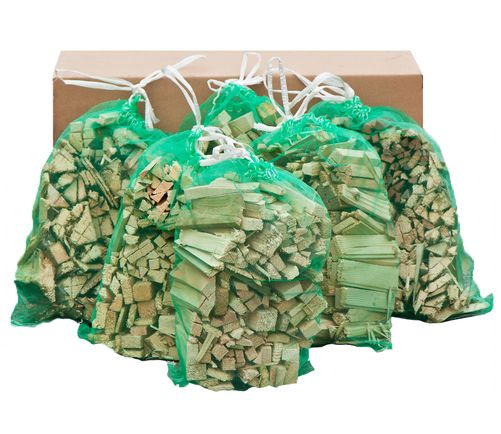40kg of Netted Kindling Sacks (8 Sacks)