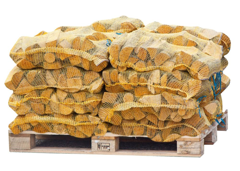 36 Netted Sacks of Kiln Dried Netted Logs