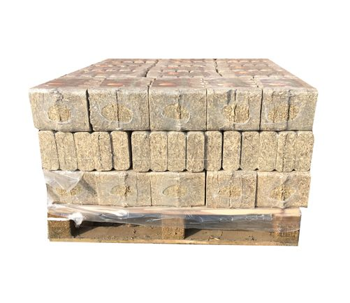 500kg of Hemp Heat Logs