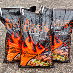 6 x 9kg bags of Lil Devils  BBQ Wood Pellets