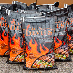 15 x 9kg bags of Lil Devils  BBQ Wood Pellets Delivered