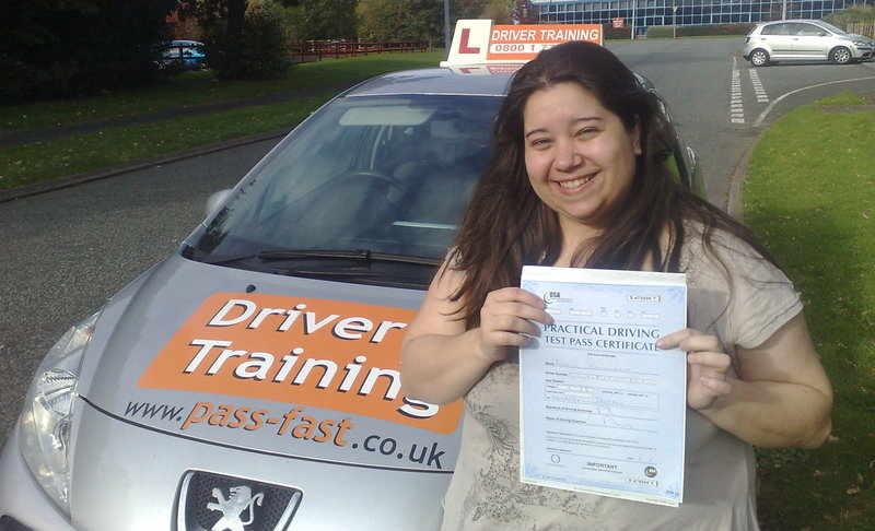 Intensive driving course liana