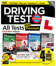 Driving Test Success ALL TESTS Premium DVD