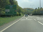 Telford roads-A442_southbound_at_Greyhound