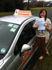 driving test pass kirsty