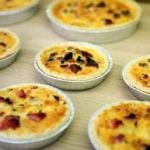 homemade quiches