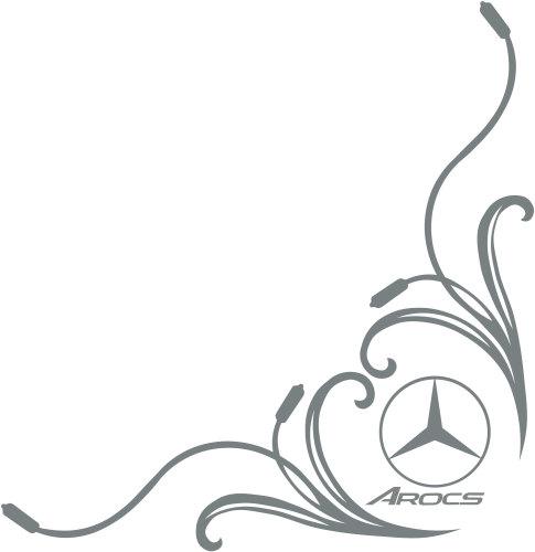 Mercedes-Benz AROCS Truck Side Window Stickers ( pair )