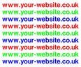 18 -  Web Address Stickers.