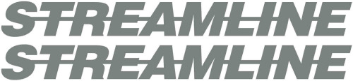Streamline Truck Bodywork Sticker