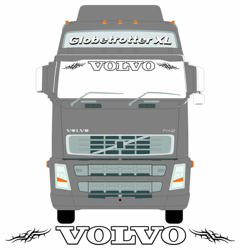 1 VOLvo TRIBAL SCREEN