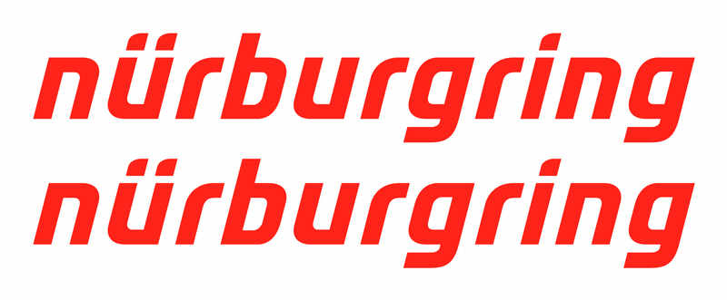 nurburgring no track decal x2