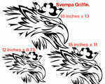 Scania Svempra Griffin Sticker x 1