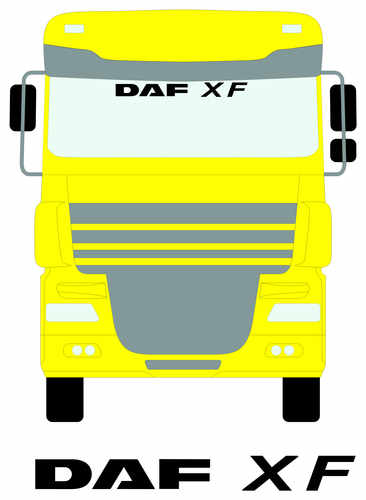 DAF XF SCREEN