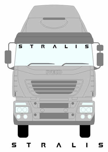 iveco stralis larger screen
