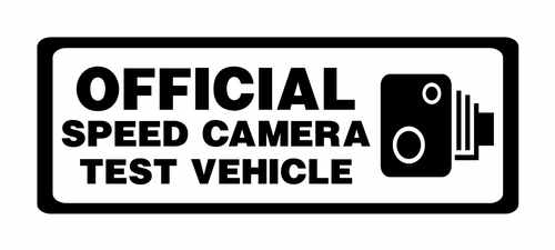 official speed camera