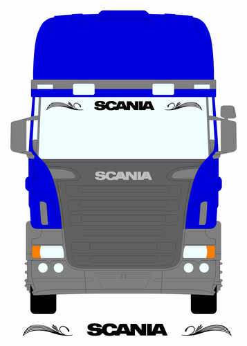 scania no griffin larger screen