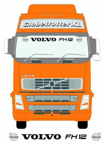 volvo fh12 larger screen
