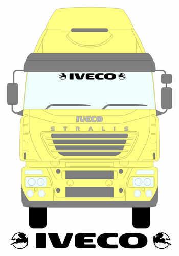 iveco screen with logo smaller