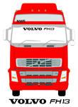 VOLVO FH13 Truck Screen Sticker
