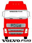 VOLVO FM9 Truck Screen Sticker