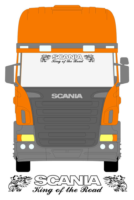 SCANIA OUTLINE KING WITH SVEMPRAS