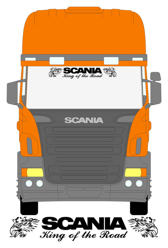 SCANIA SOLID KING WITH SVEMPRAS