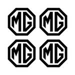 MG Wheel Centre Cap Stickers