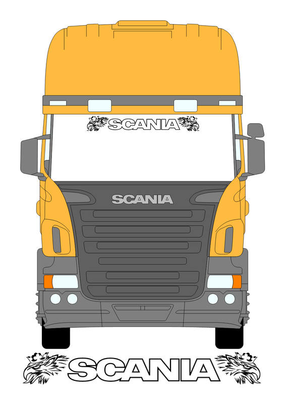 scania with outline n svempras