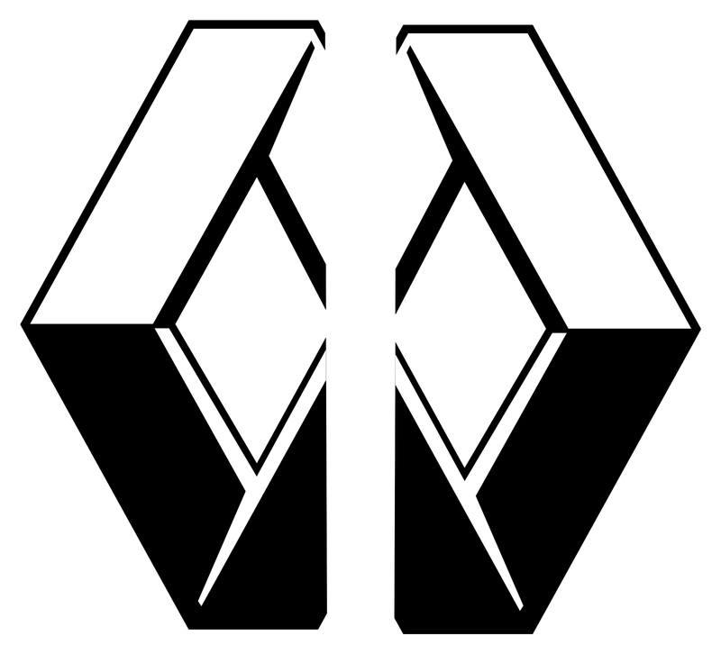 Half renault logo