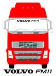 VOLVO FM11 Truck Screen Sticker
